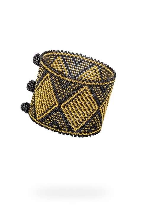 017-brazalete-kuu-tau-oro-cristal-negro