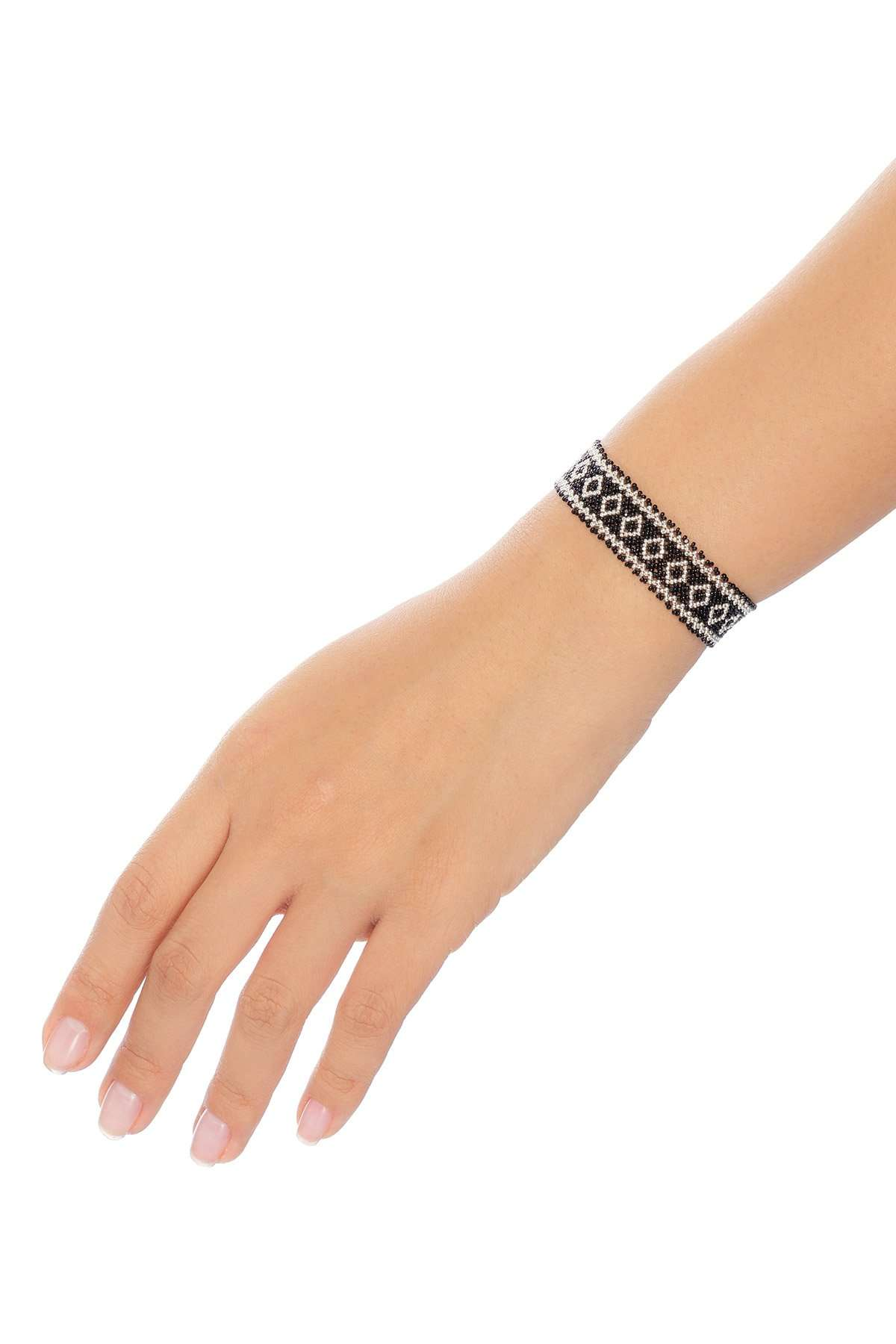 001-mini-brazaletes-plata-negro-alt1