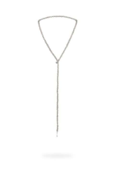002 cadena tejido abierto platino