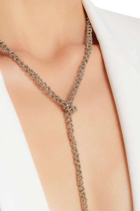 002 cadena tejido abierto platino alt2