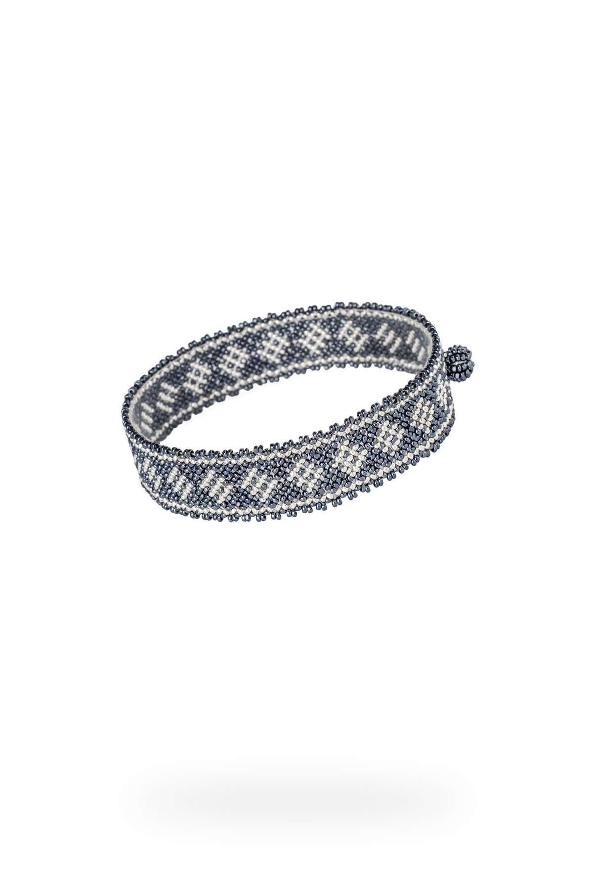 002 mini brazaletes plata gris