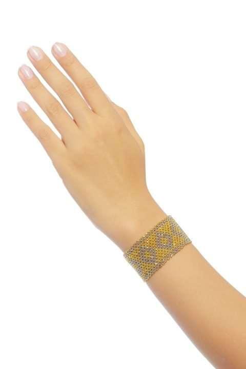 003 brazaletes mediano oro platino alt1