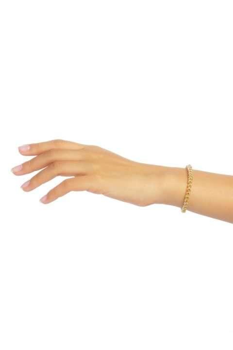 005 mini brazalete cadena oro plata alt1