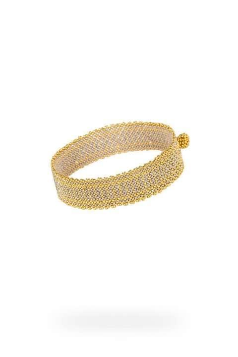 005 mini brazaletes oro platino