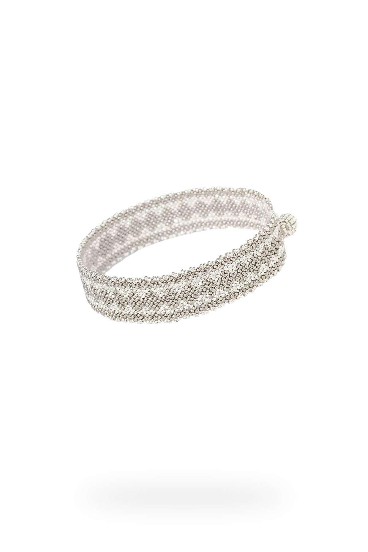 008 mini brazaletes plata platino