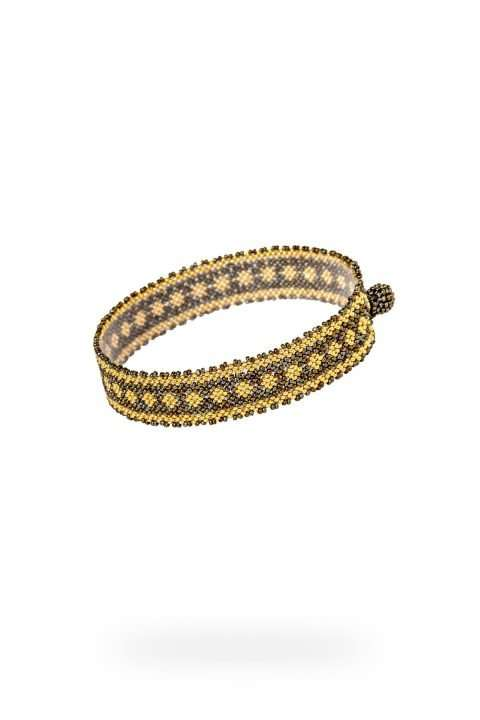 010 mini brazaletes oro verde militar