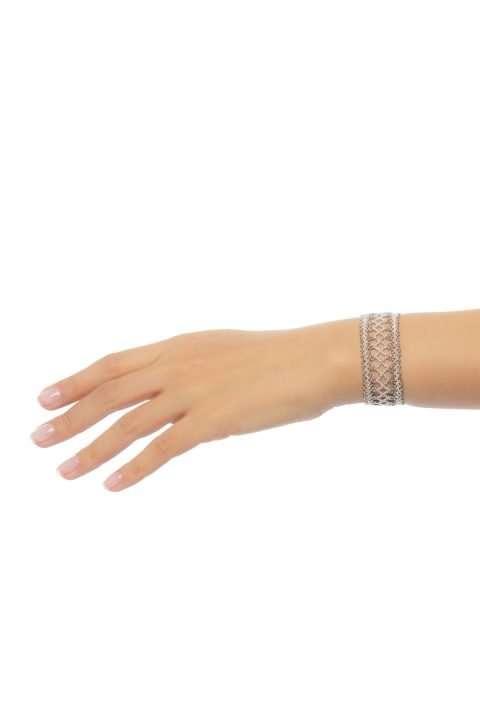 010 brazalete mediano tejido abierto plata platino alt1
