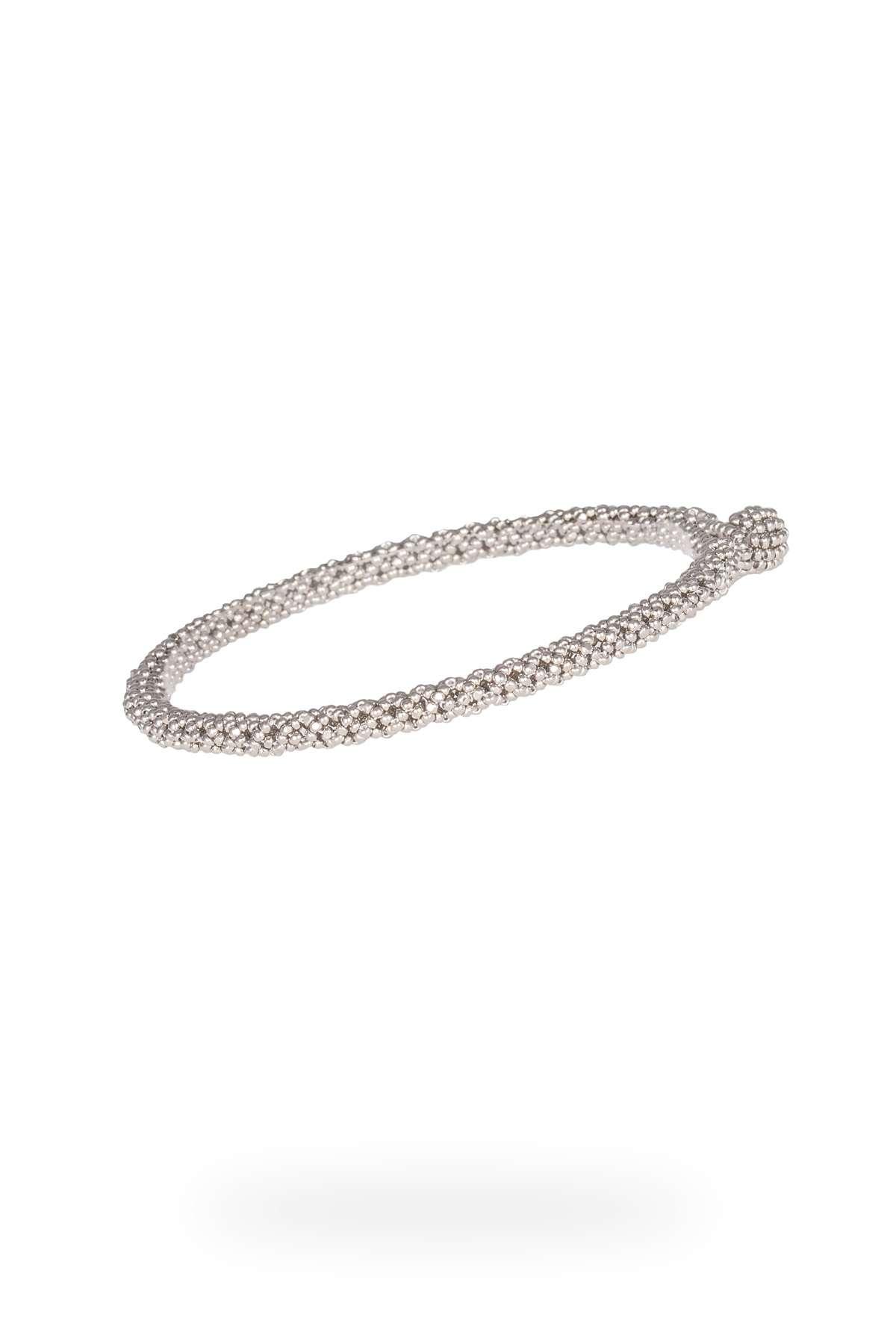 SER005 mini brazalete serpiente plata platino
