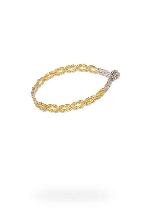 01 brazalete cadena simple