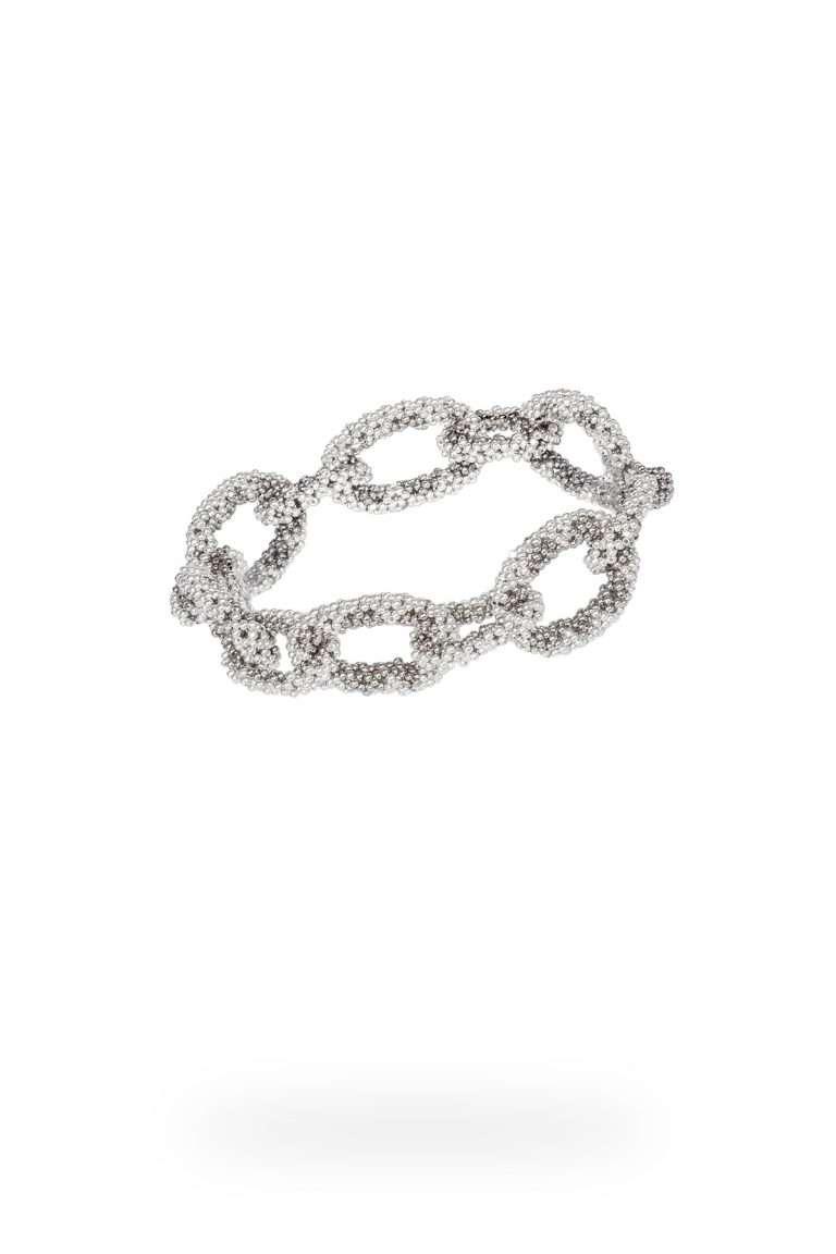 10 brazalete cadena mediana