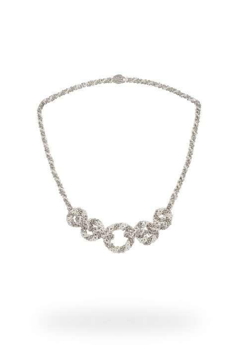 14 collar cadena central