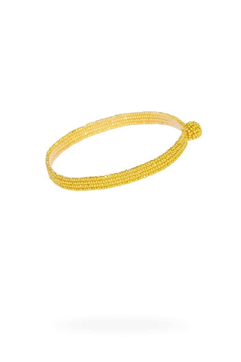 TLB008 brazalete lineal oro