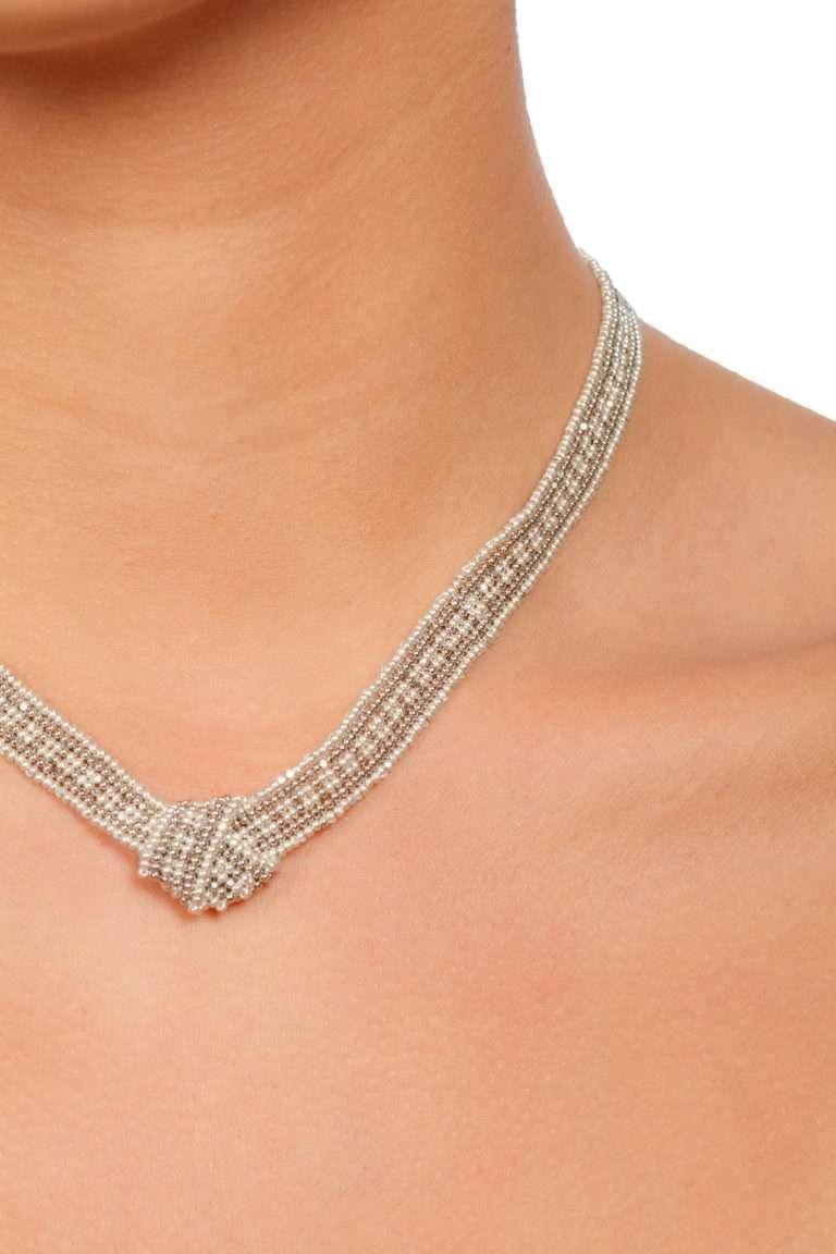 TLG002 collar lineal plata platino alt2