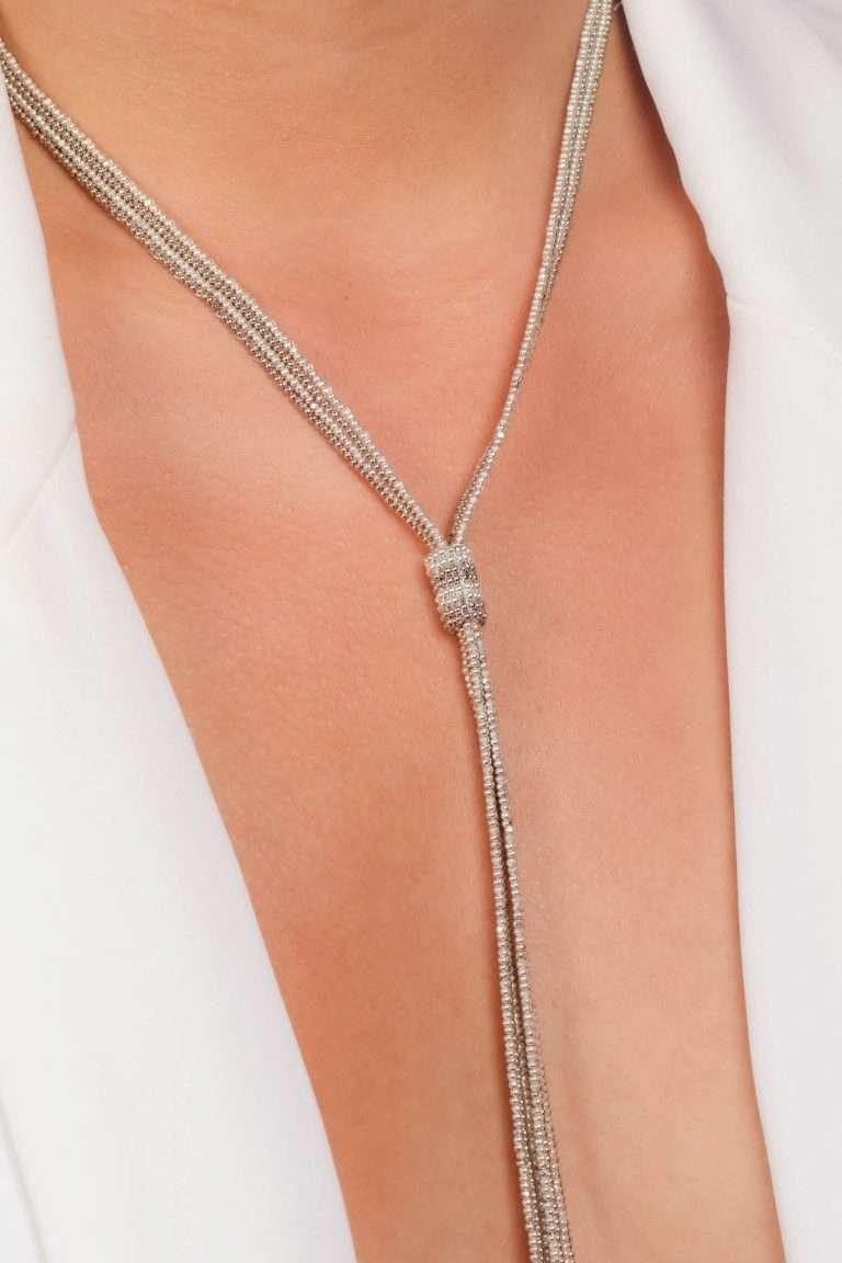 TLG004 collar lineal plata platino alt2