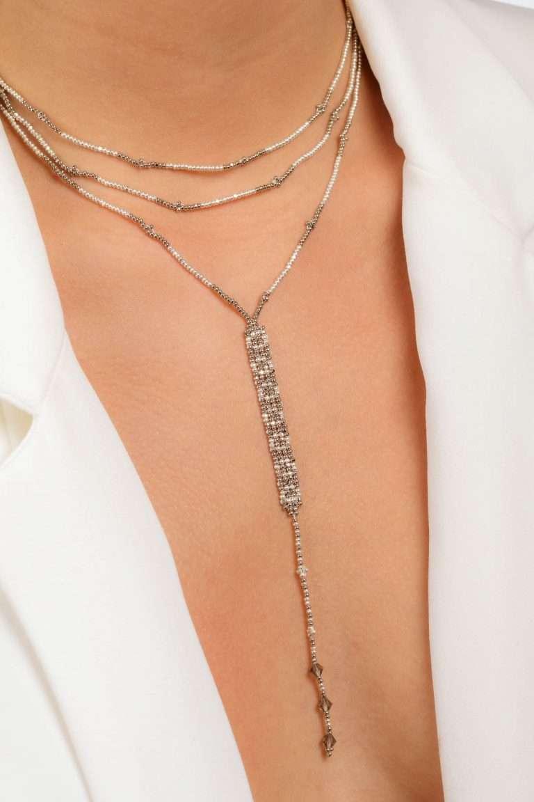 TLG006 collar lineal plata platino alt2