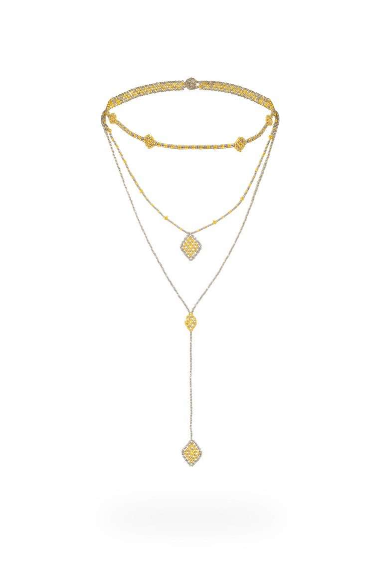 TLC007 collar lineal oro platino v2